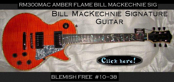Bill MacKechnie Signature Guitar