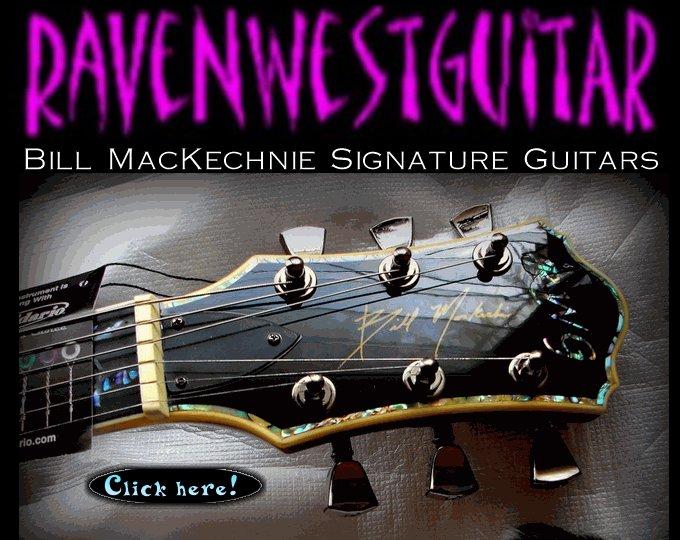 Bill MacKechnie Signature Guitars