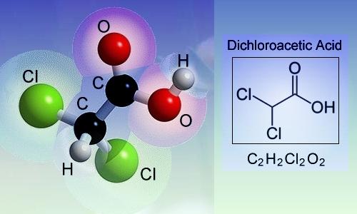 Dichloroacetic Acid Molecule